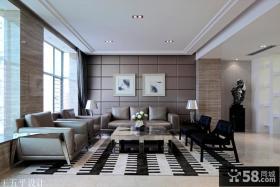 别墅客厅装饰设计效果图片