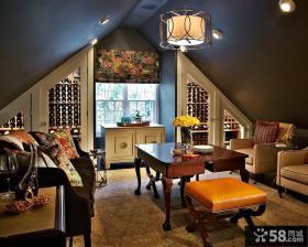 美式家装设计室内阁楼效果图大全欣赏