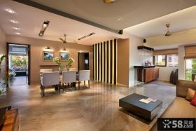 美式装修设计室内客厅吊顶图片大全