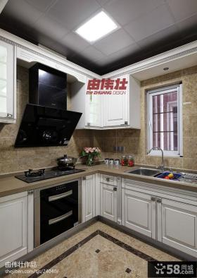 欧式厨房集成吊顶效果图片