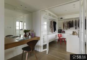 宜家时尚家装12平米家庭衣帽间设计