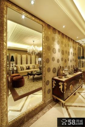 中式新古典风格室内装修效果图