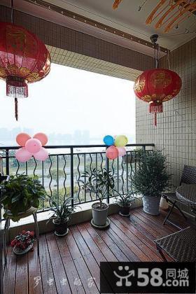 家庭设计5平米阳台效果图