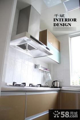 整体厨房灶台装修效果图