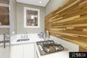 圣保罗复式小公寓厨房设计