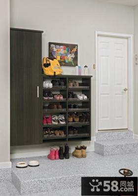 客厅玄关鞋柜装修效果图