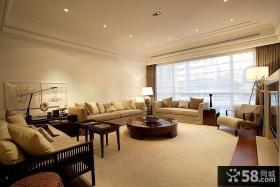 后现代风格三居整体客厅装修效果图