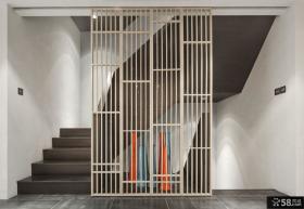 现代室内楼梯隔断效果图欣赏