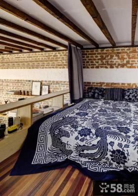 清新田园风格复式卧室设计