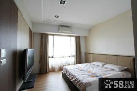 现代10平米卧室设计电视背景墙