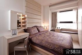 现代风格室内主卧室图欣赏