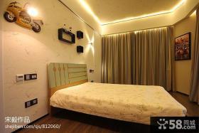 现代风格儿童房间卧室窗帘设计
