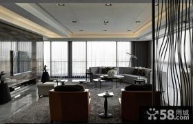 后现代风格客厅电视背景墙装修效果图欣赏大全