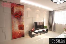 简约风格装修图片电视背景墙效果图