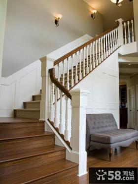 美式家装设计楼梯图片欣赏大全