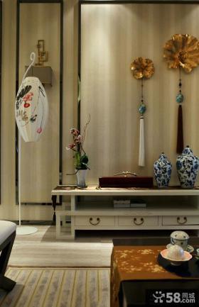 新古典客厅中式壁灯灯罩图片