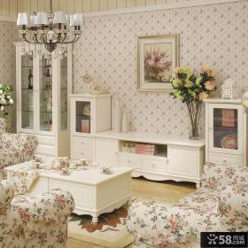 客厅欧式田园风格家具图片