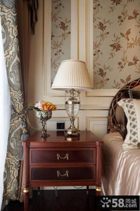 美式风格卧室灯具图片欣赏