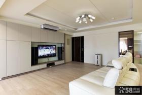 130平米现代风格三居室装修图片