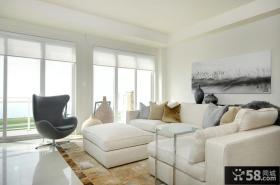简约客厅沙发背景墙效果图大全2013图片