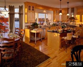 欧式厨房整体橱柜装修效果图大全2012图片