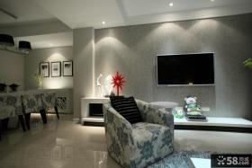 小房子装修效果图 客厅电视背景墙装修效果图