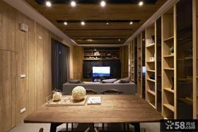 日式风格别墅餐厅设计效果图