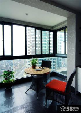 家庭设计室内精装修阳台效果图大全