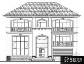 农村别墅设计图纸效果图