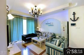 地中海风格小户型客厅装修图片大全