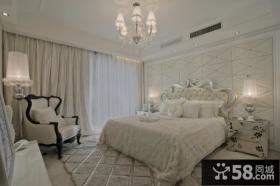 简约欧式风格主卧室图片