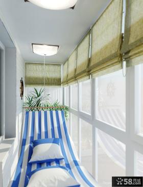 地中海风格封阳台装修效果图