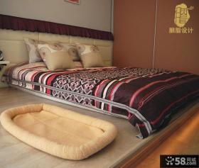 现代日式风格卧室设计图片