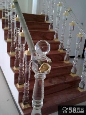 水晶楼梯扶手图片
