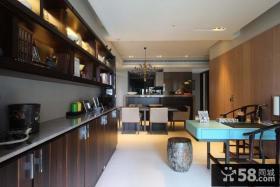 室内开放式厨房装修设计