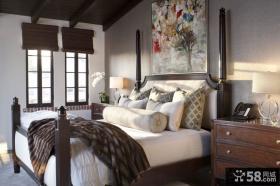 欧式现代卧室装修效果图大全2012
