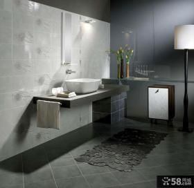 现代卫生间瓷砖图片欣赏