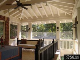 室内客厅阳台装修效果图 阳台设计效果图