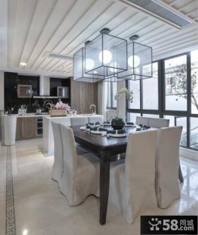 家装餐厅吊顶灯造型设计效果图