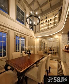 欧式风格复式客厅装修效果图大全