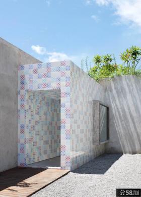 现代创意豪华别墅外观设计