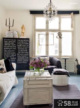 宜家小户型客厅样板间效果图