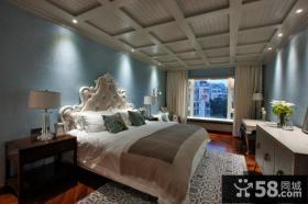 欧式装修设计卧室吊顶效果图