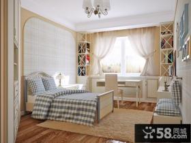 田园小户型卧室室内装修图片