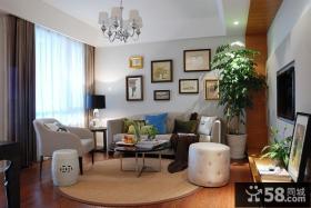 优质简约风格三居室效果图