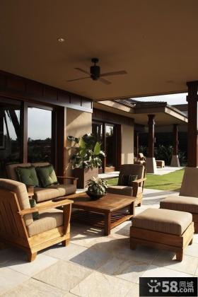 开放式阳台设计图片 阳台装修效果图大全2012图片