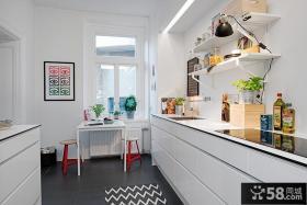 小户型厨房设计实景图欣赏