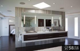 奢华的后现代装修风格卫生间图片