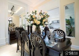 流溪御景花园a-b型别墅餐厅装修效果图大全2012图片