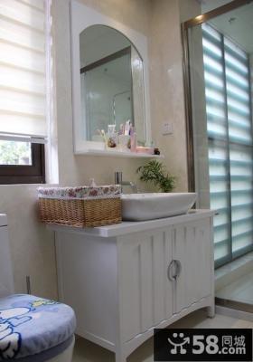 小资格调现代风格卫生间设计